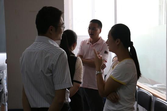 团体活动课后交流